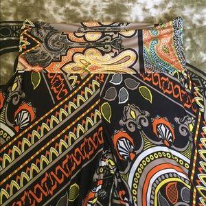 Funky hippie festival pants